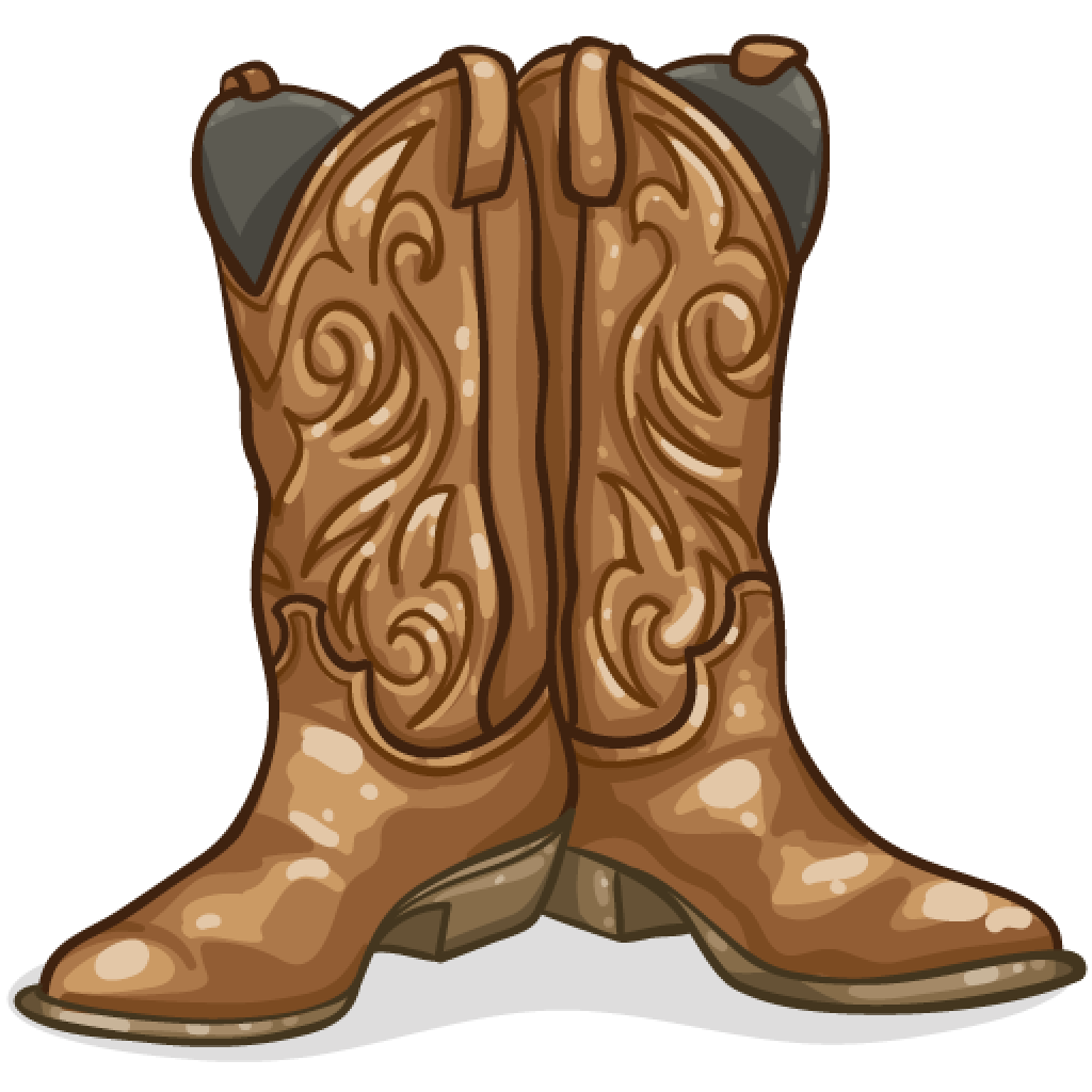 Whip clipart cowboy. Item detail boots itembrowser