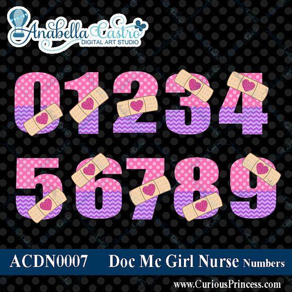 Mc numbers mcstuffin clip. Doc mcstuffins clipart number