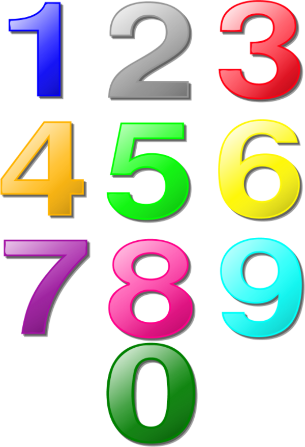 collection of numerical. Marbles clipart one