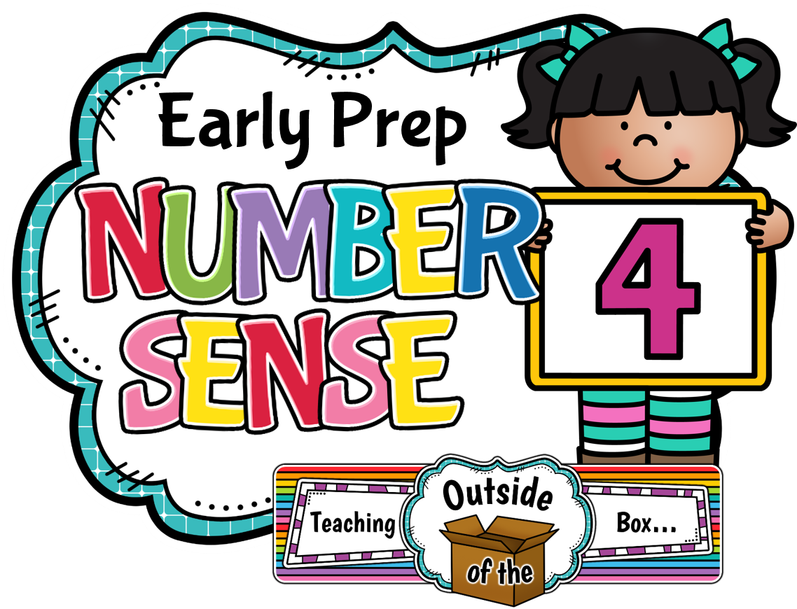Teaching Outside of the Box...: Early Prep Number Sense