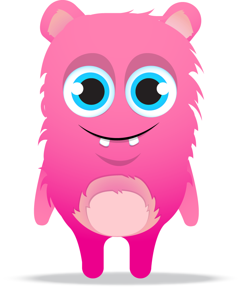 Class dojo free clip. Numbers clipart monster