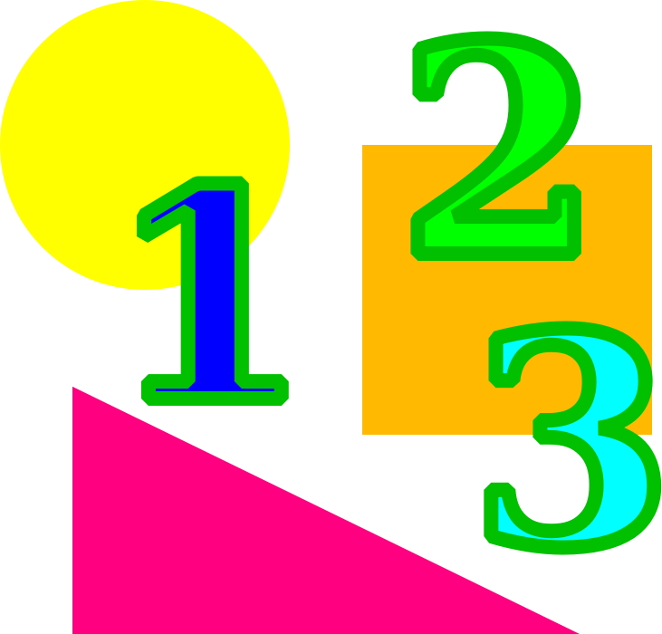 Ks maths homework number. Clipart numbers numeracy