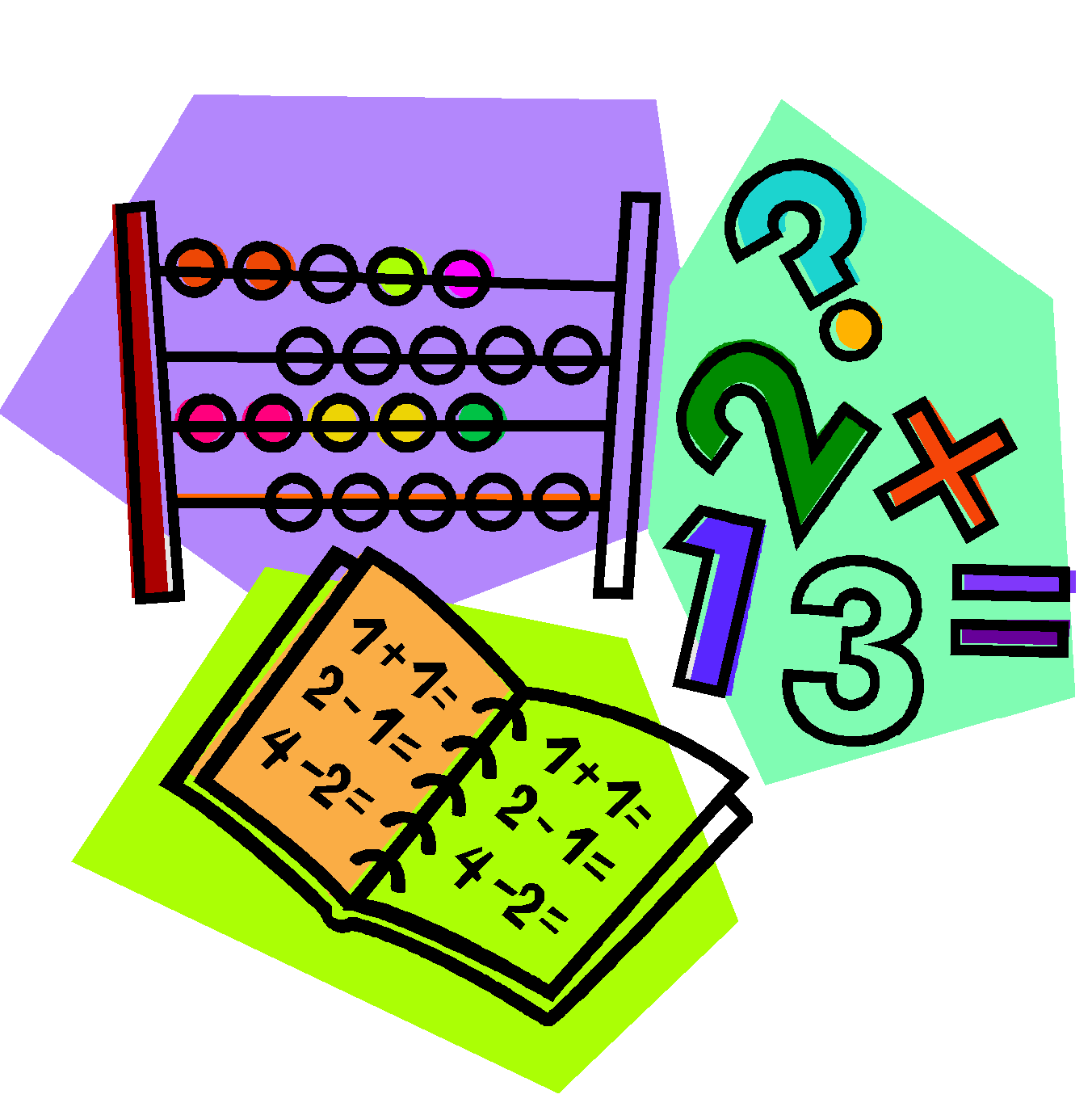 Pd . Clipart numbers numeracy