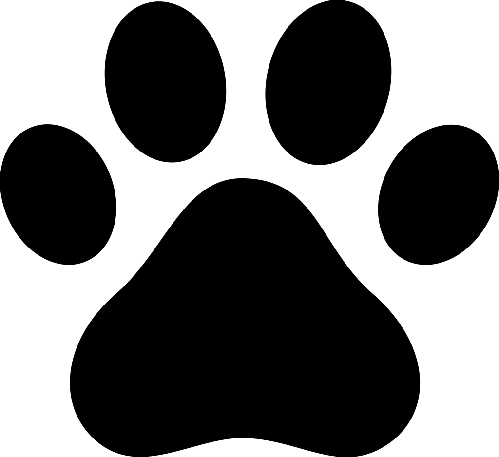 Pawprint clipart color. Dog paw png use