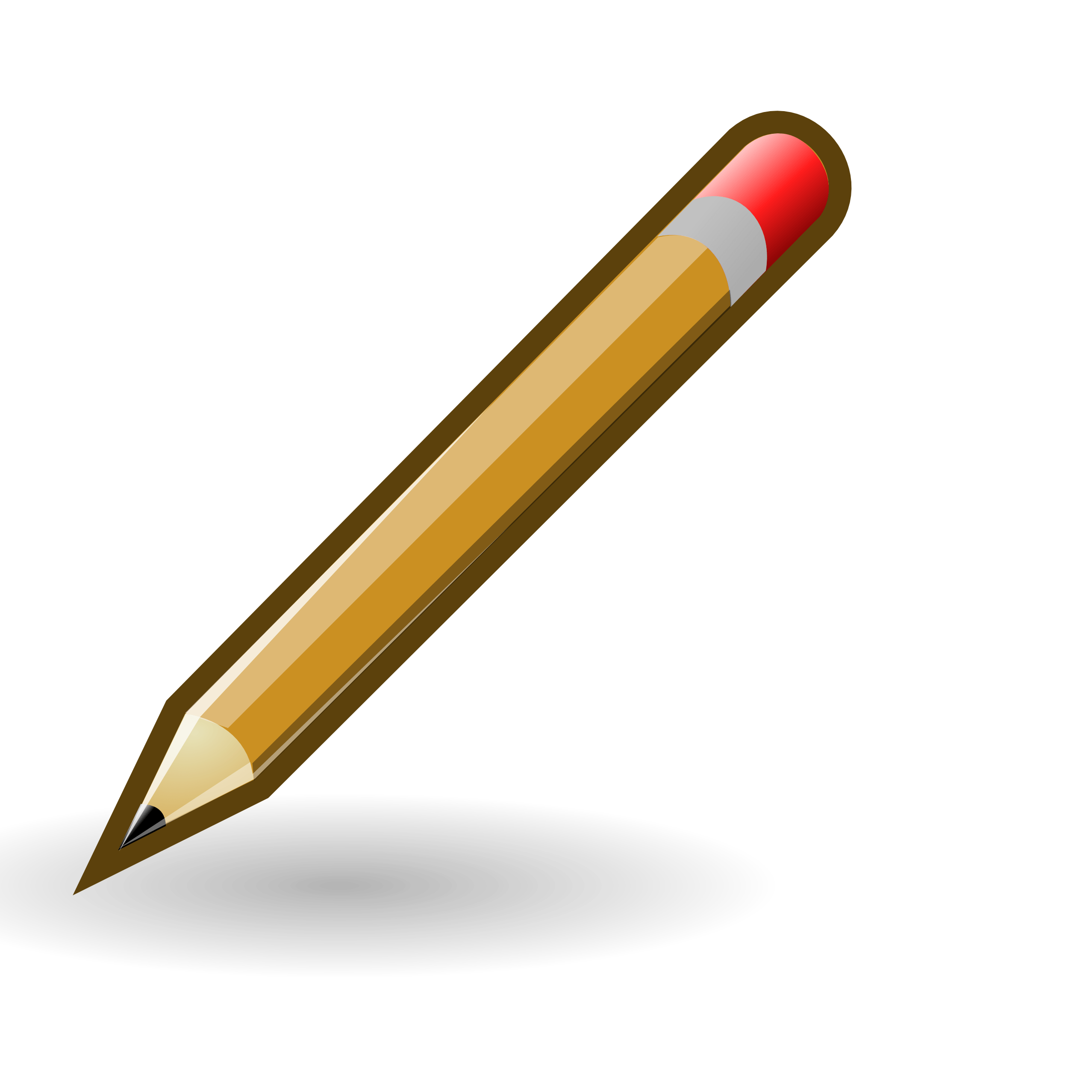 Pencil clipart colour. Small and in color