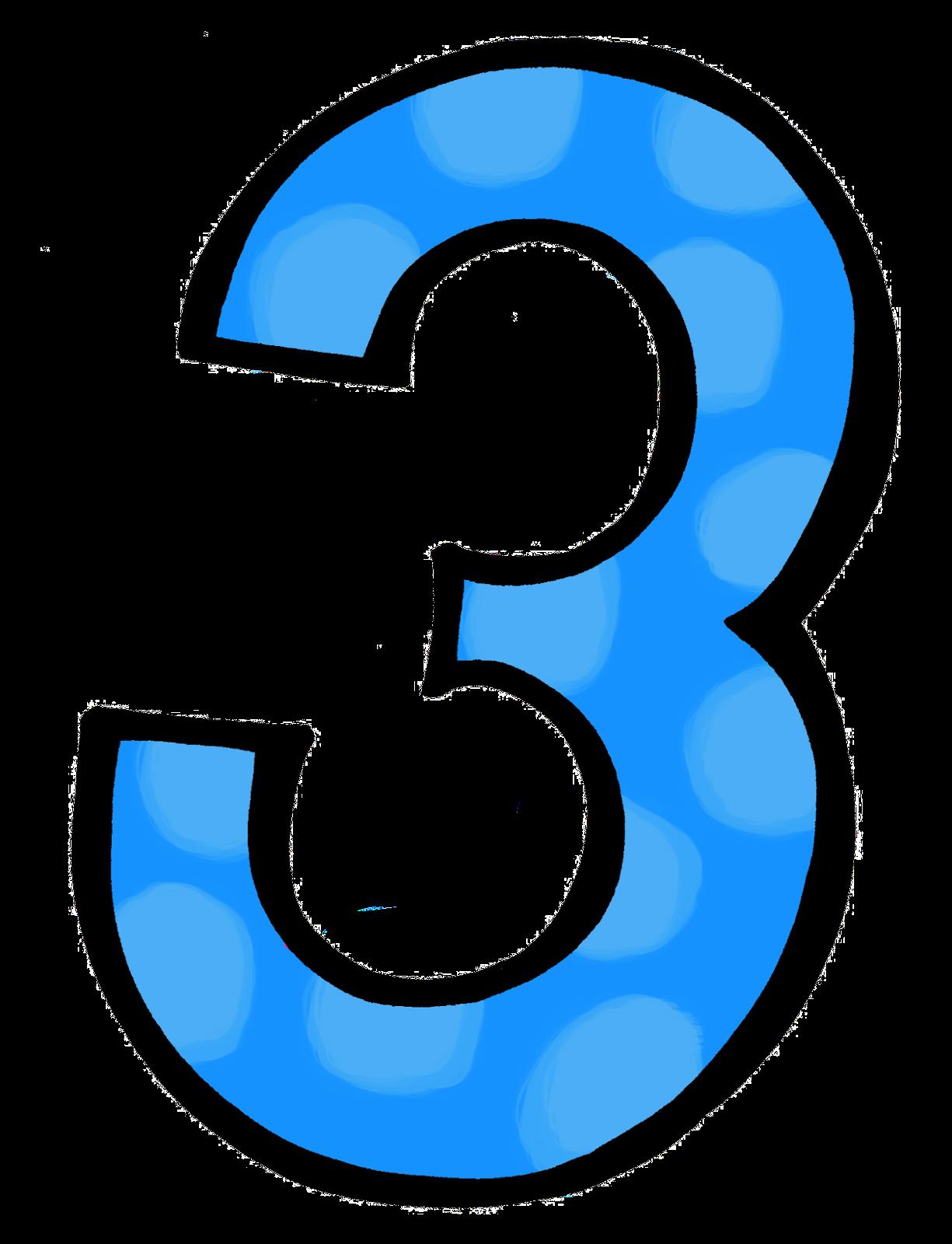 Number 3 clipart polka dot, Number 3 polka dot Transparent ...