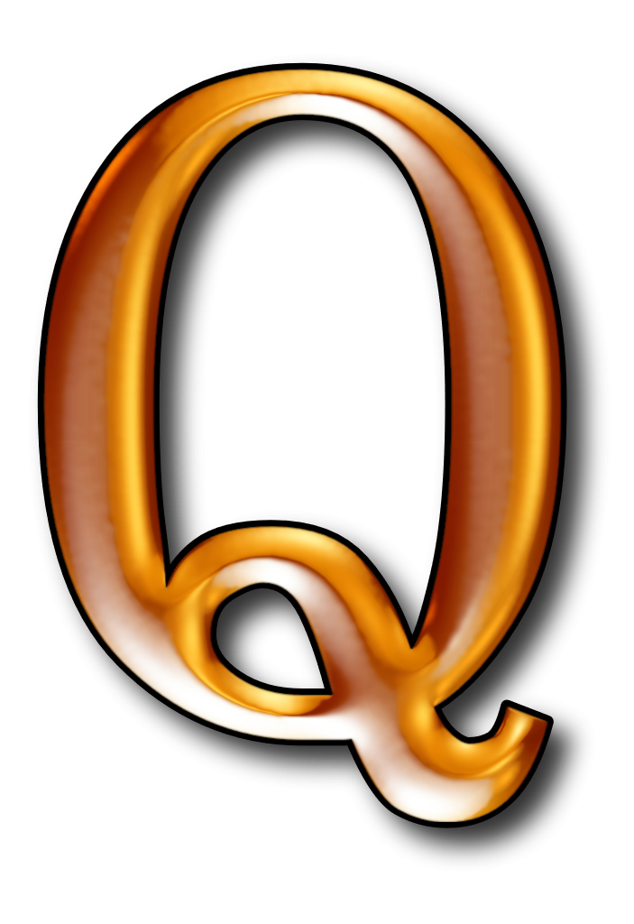 Iconic q it is. Number clipart qualitative data