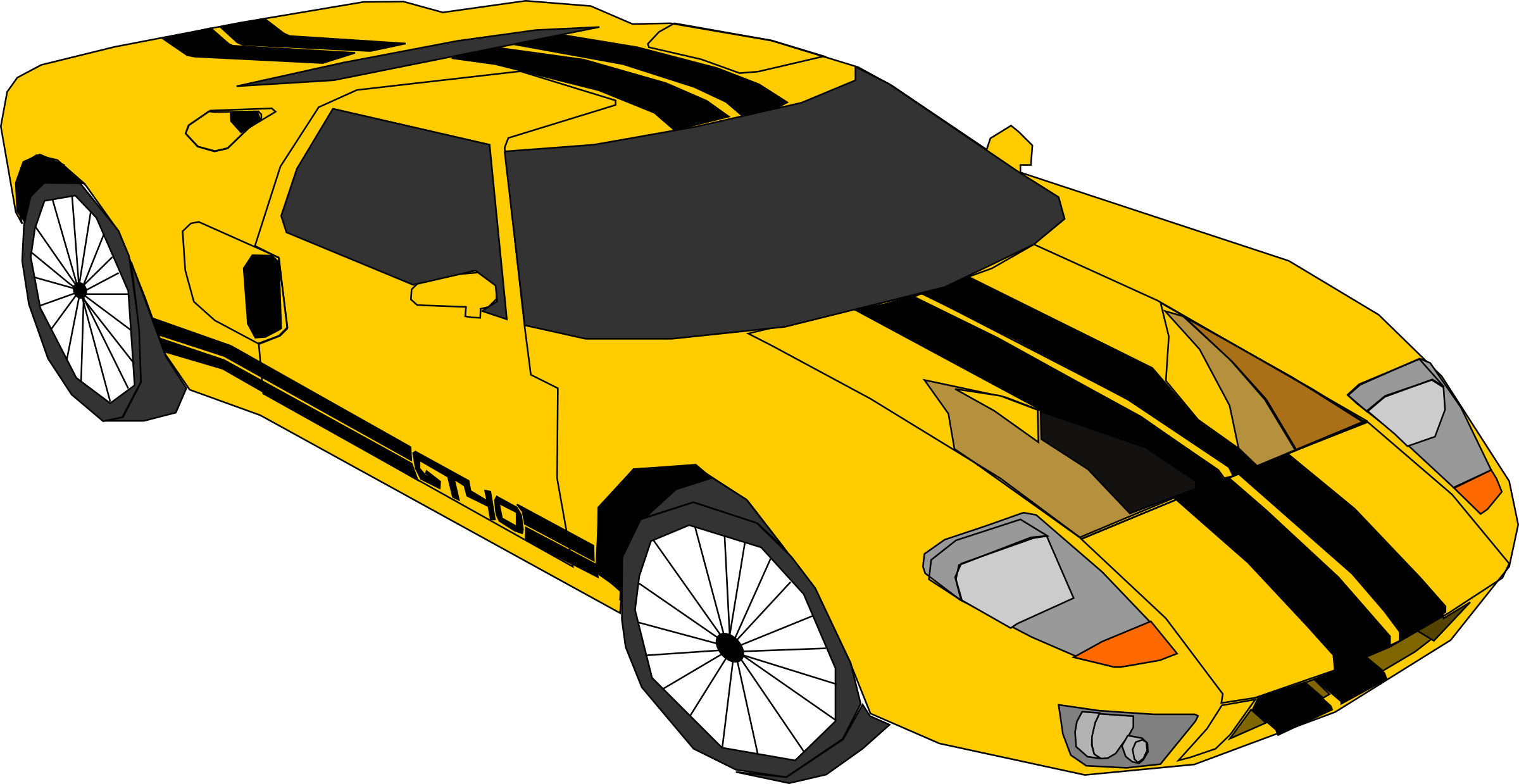 Race clipart vehicle.  collection of yellow