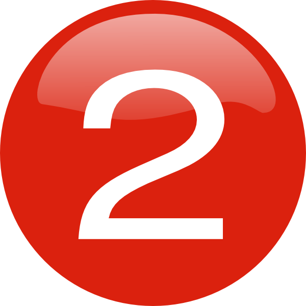 Free red cliparts download. Number 2 clipart 2png