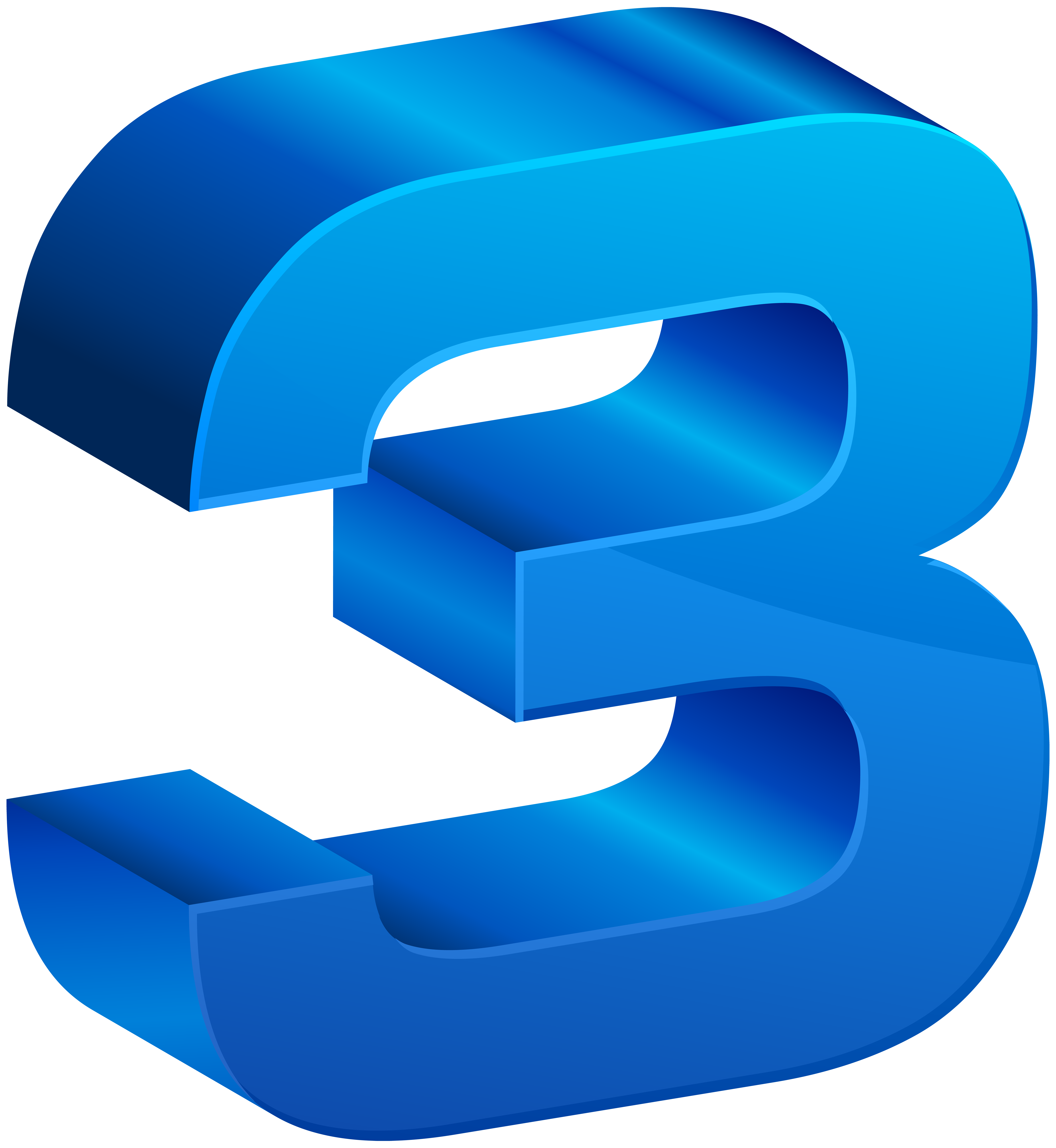 Number blue transparent png. Clipart numbers three
