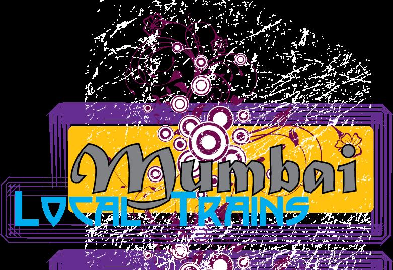 Mumbai locals temel nosce. Clipart train local train