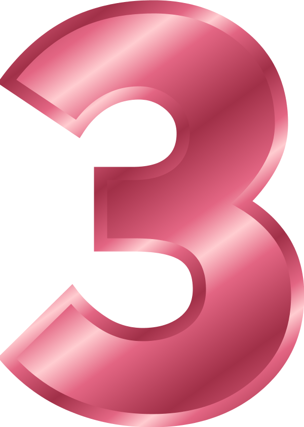 R clipart pink.  collection of number