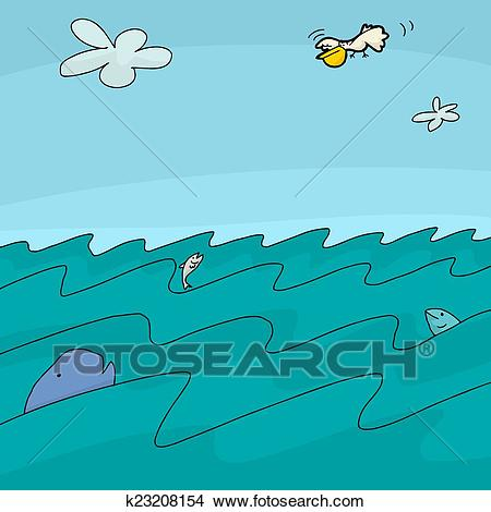 X making the web. Clipart ocean animated