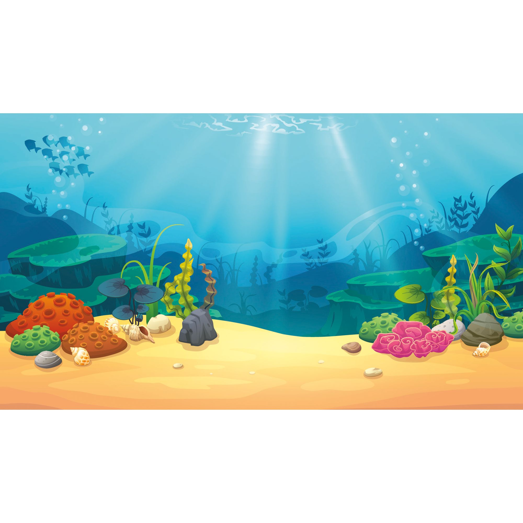 Coral clipart underwate treasure. Top fin and reversible