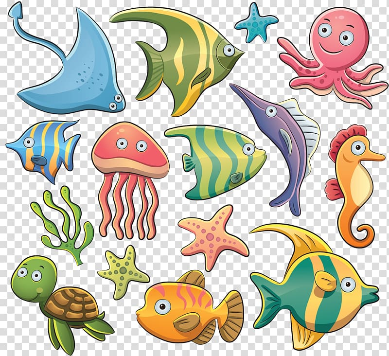 Coral Reef Background clipart - Water, Ocean, Fish, transparent clip art