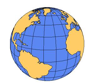 North global projection powerpoint. Clipart ocean atlantic ocean