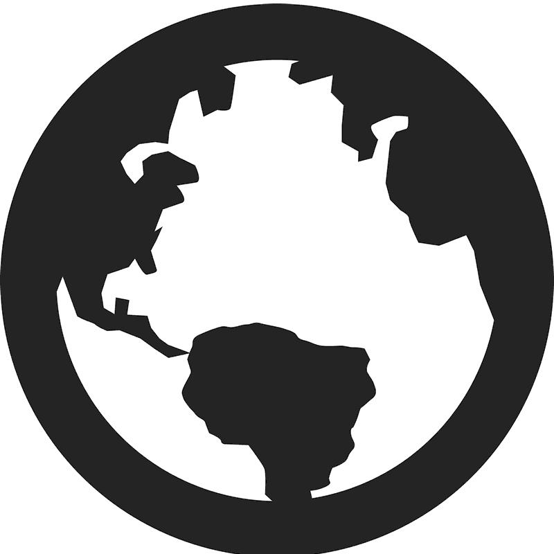 Clipart ocean atlantic ocean. Globe rubber stamp nautical