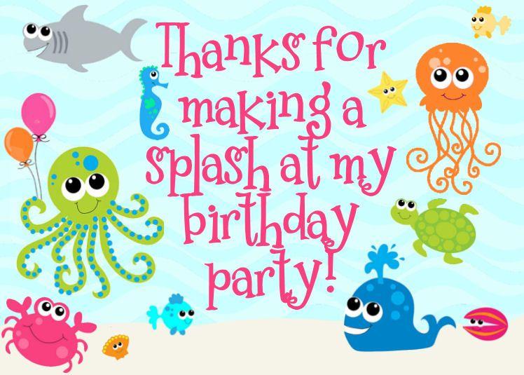 Clipart ocean birthday. Free under the sea