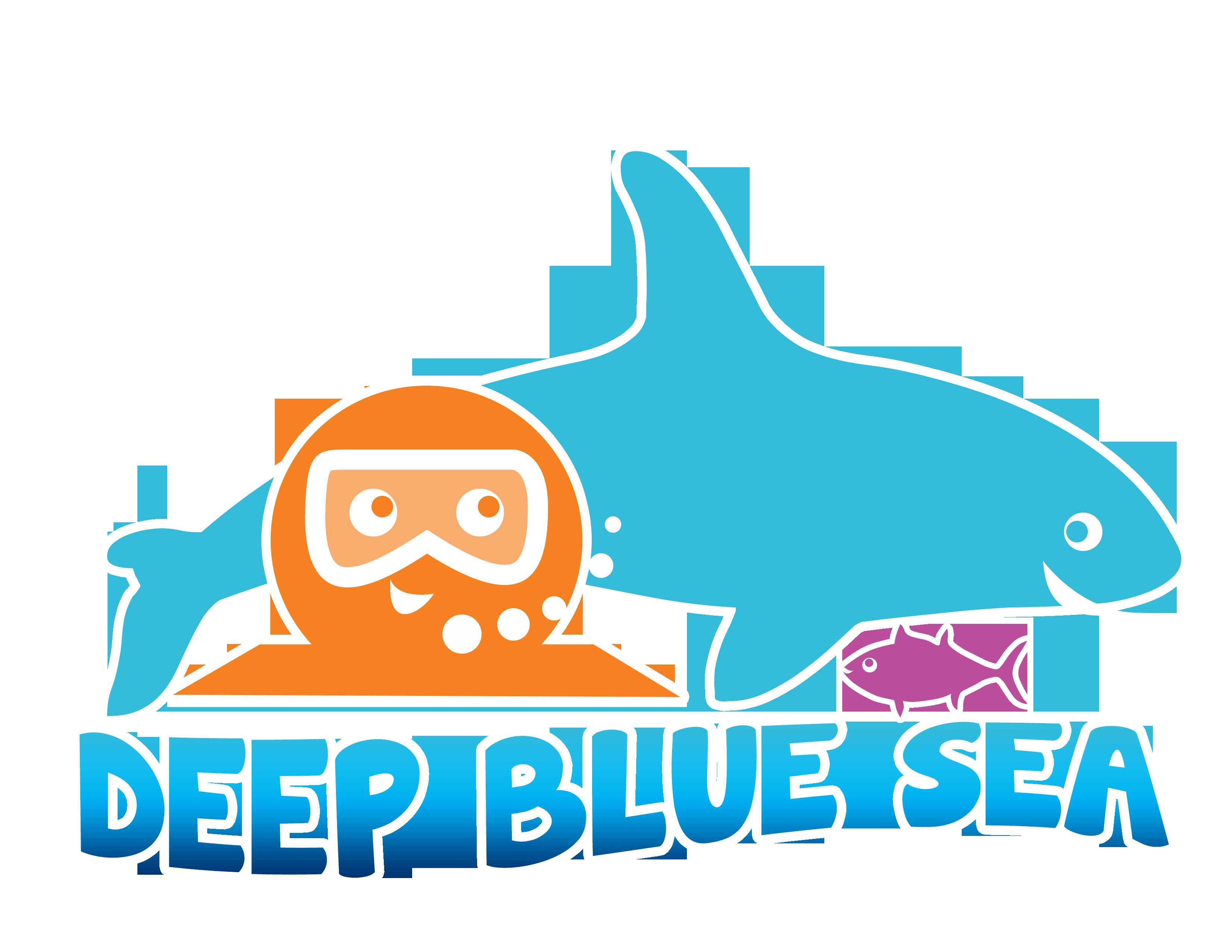 Deep blue sea camptastic. Diver clipart marine biologist