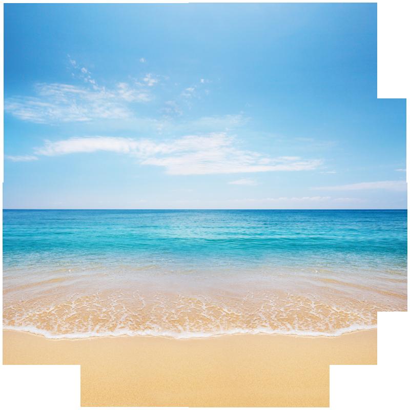 Beach png acur lunamedia. Ocean clipart transparent background