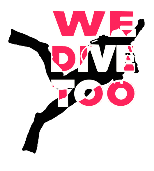 Home we dive too. Diver clipart tool