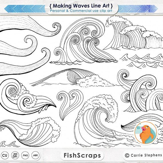 clipart ocean drawing
