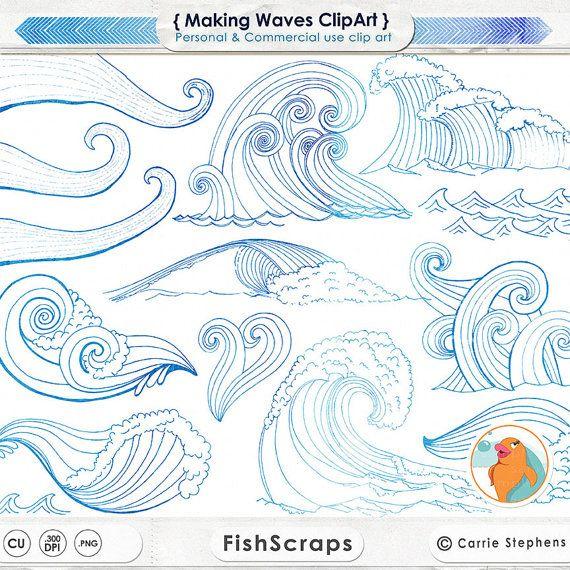 Clipart ocean drawing. Mermaid surf s up