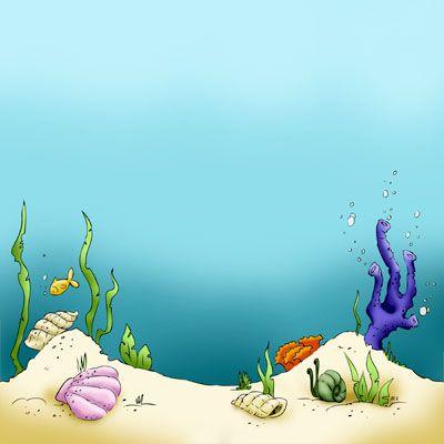 Ocean clipart ocean floor. Sandy sea beach digital