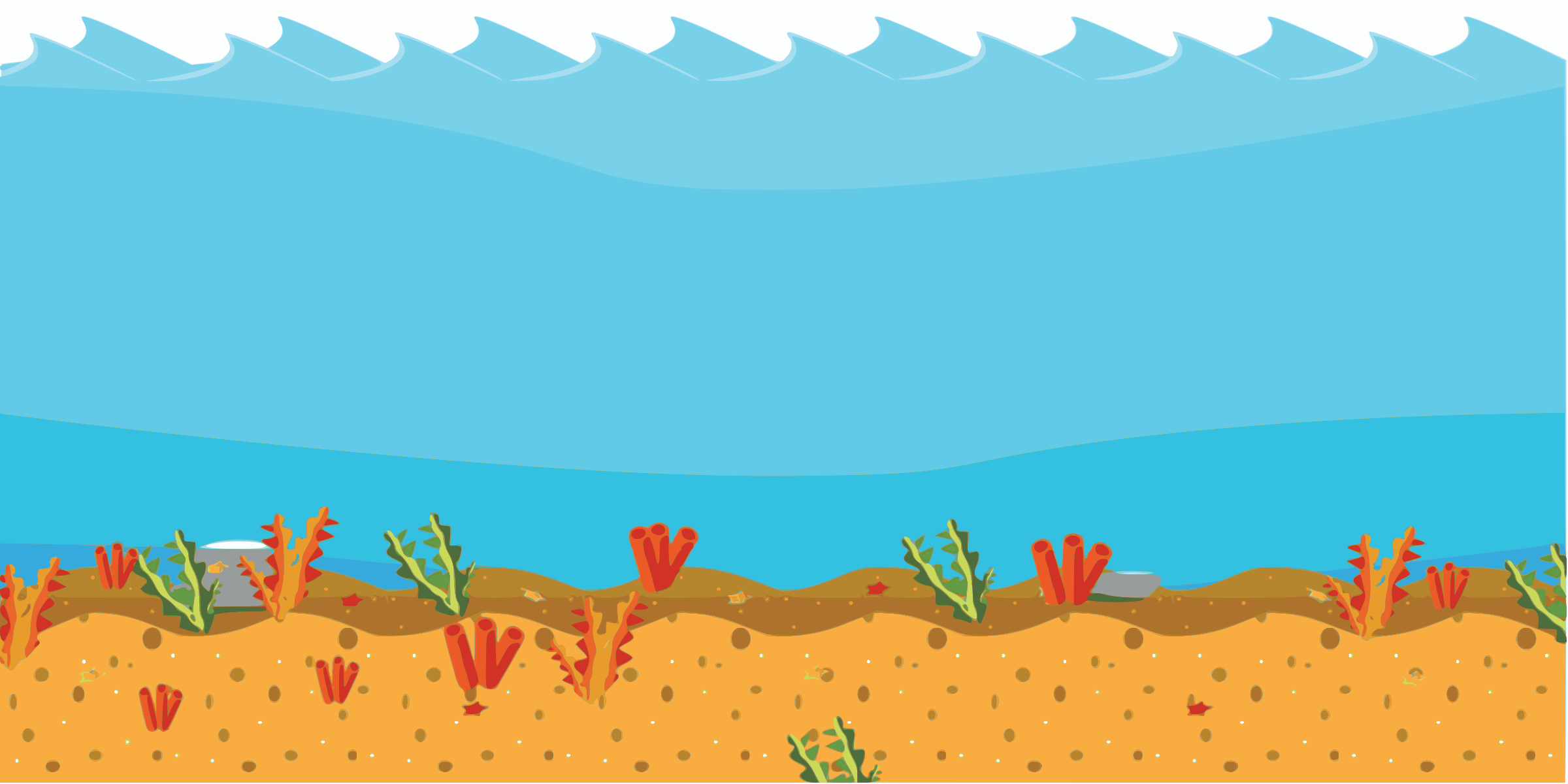 Free sea background cliparts. Clipart ocean ground