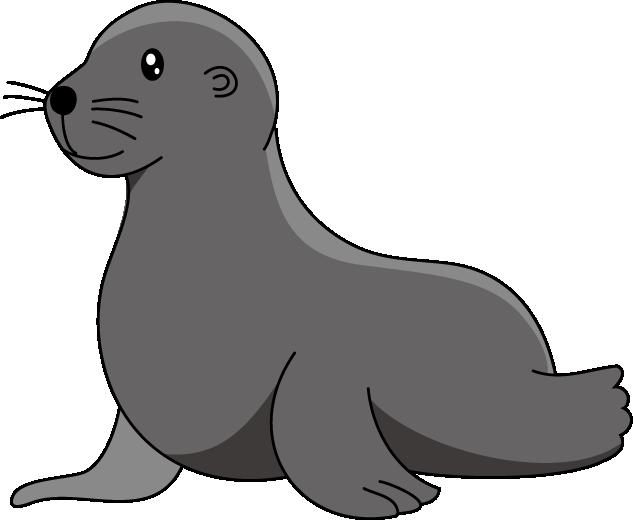 Ocean clipart kid. Sea lion seal pinterest