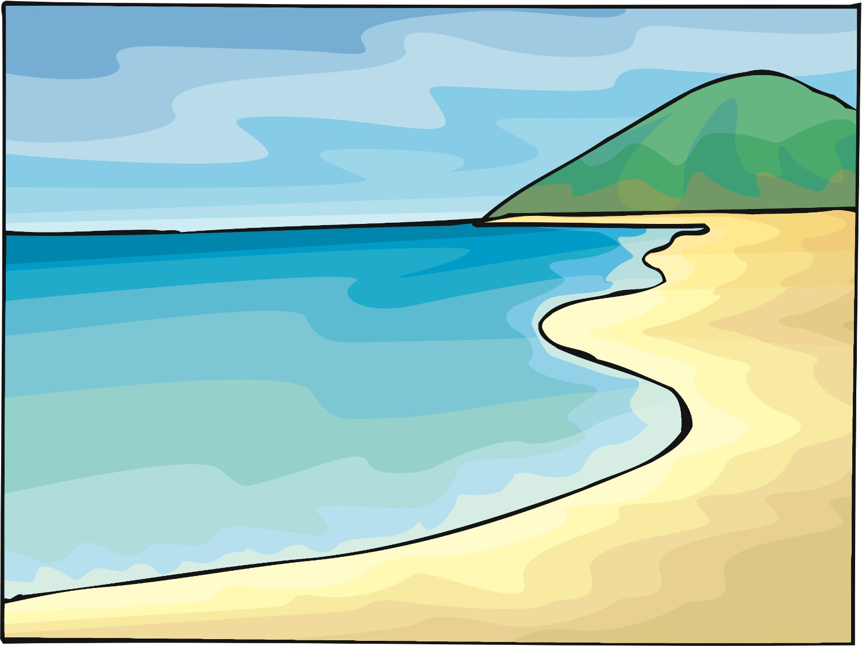 Ocean clipart land ocean. And