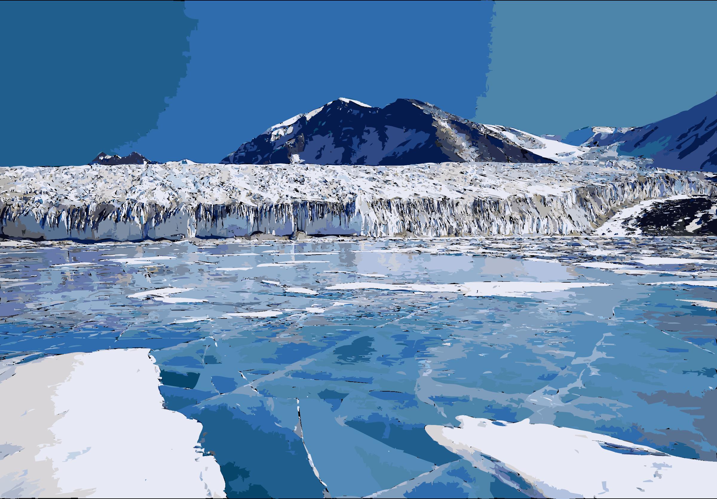 Fryxellsee opt big image. Glacier clipart ice cap