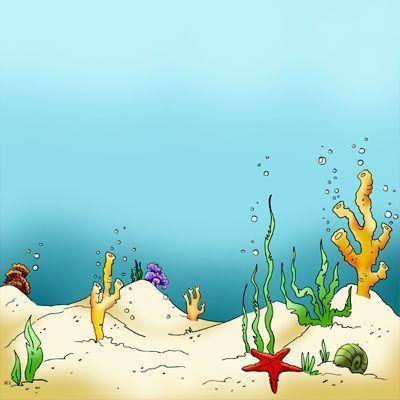 Ocean clipart ocean floor. Make it crafty seaweed
