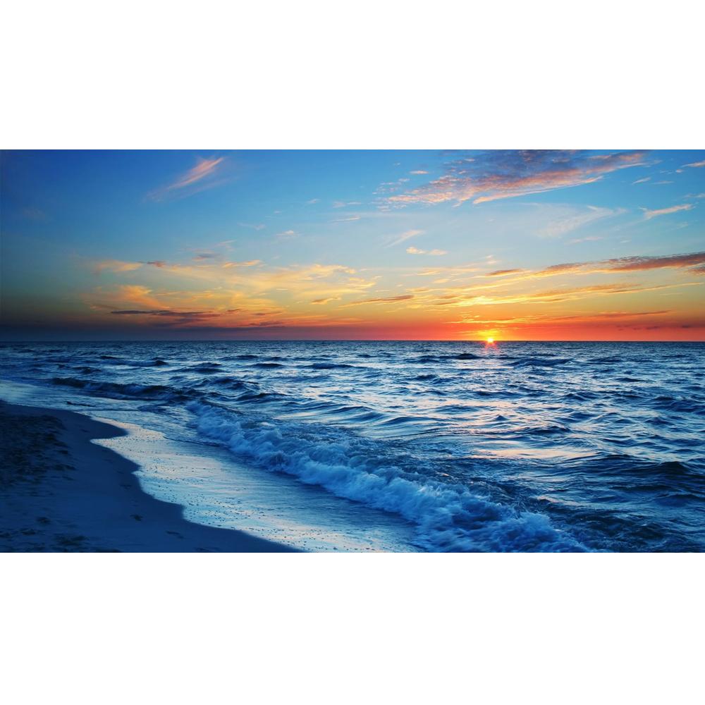 High foamy beach hd. Clipart ocean ocean horizon