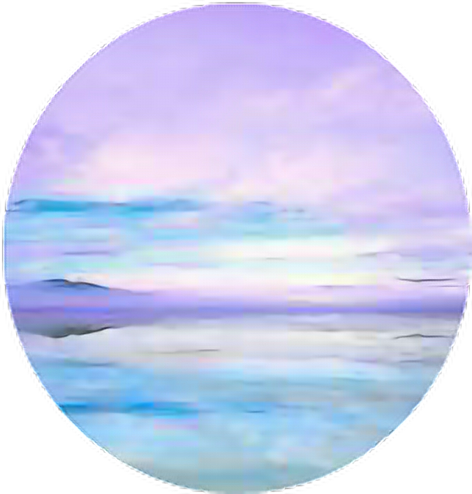 Circle aesthetic aestheticcircle pastel. Clipart ocean ocean horizon