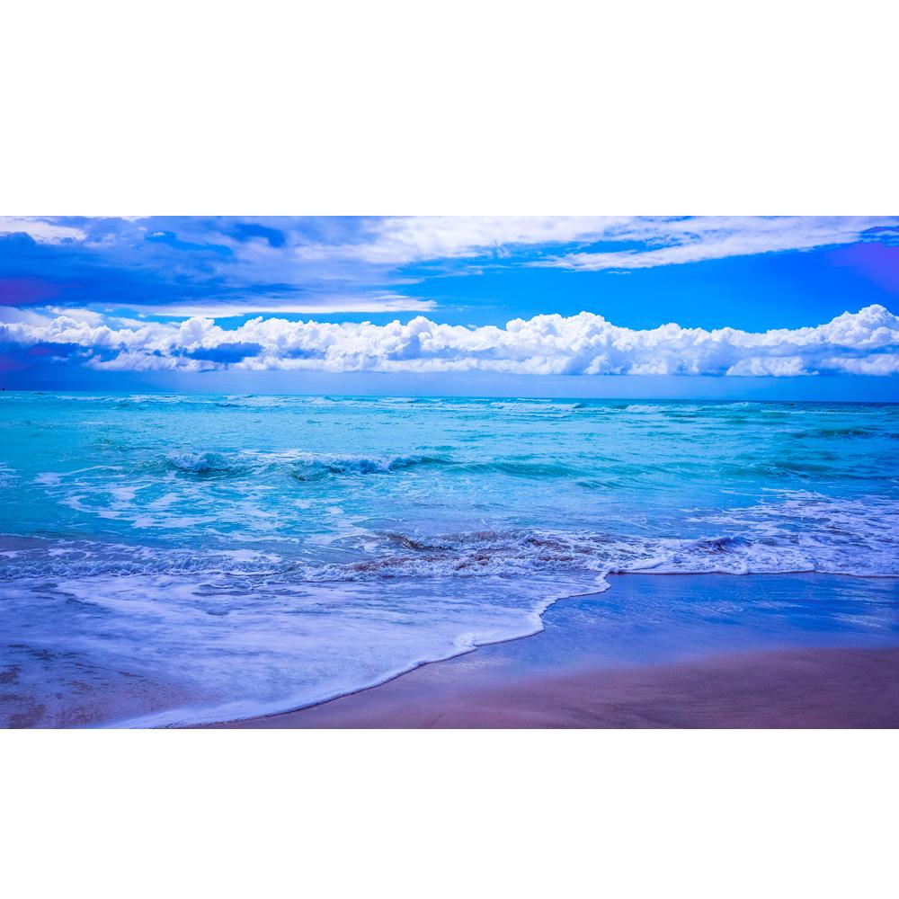 Clipart ocean ocean horizon. Cloudy blue k www
