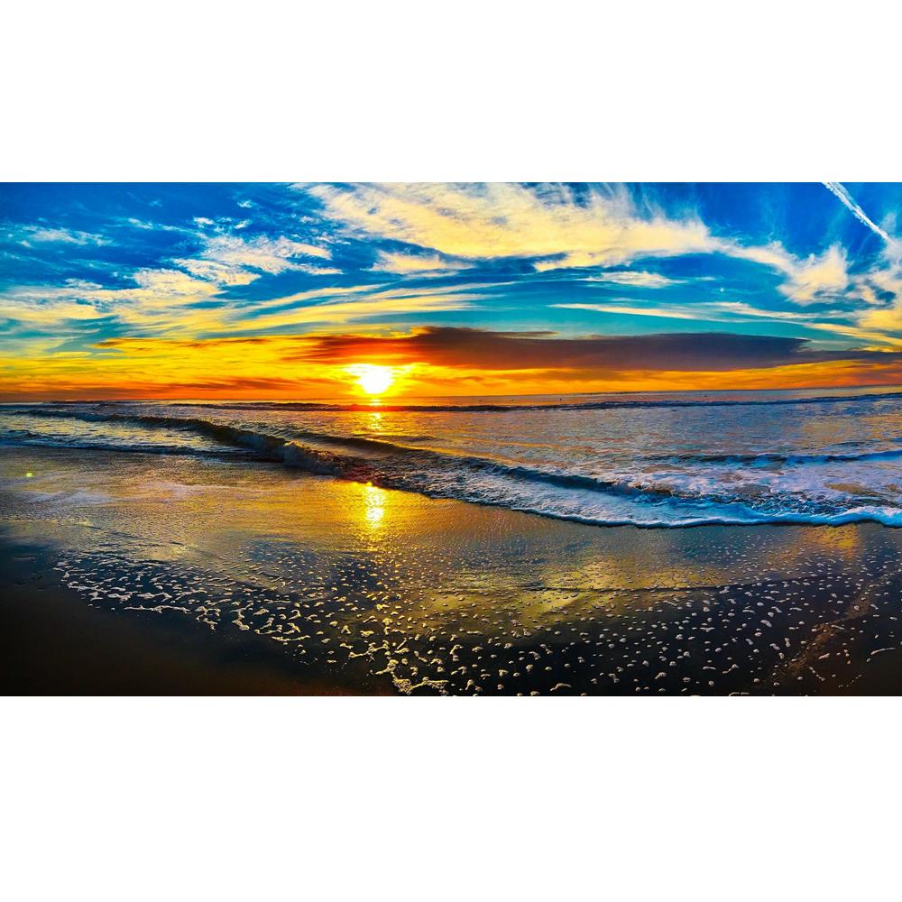 Beach sunset k www. Clipart ocean ocean horizon