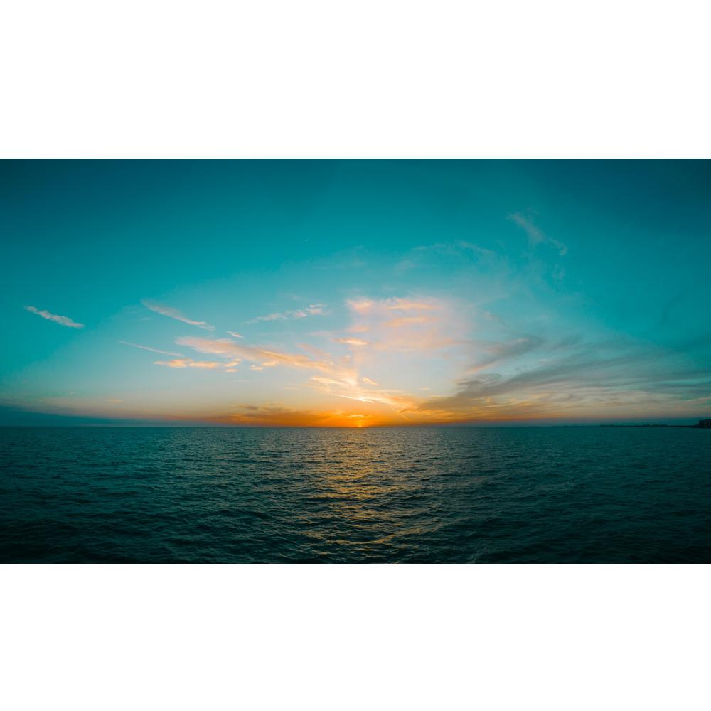 Clipart ocean ocean horizon. Golden k www opendesktop
