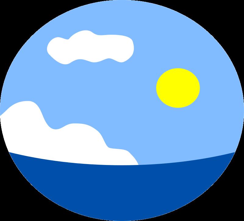 Sea medium image png. Clipart ocean ocean scene