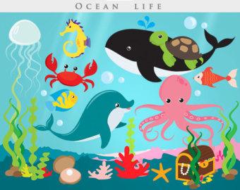 Clipart ocean ocean scene. Cute clip art library