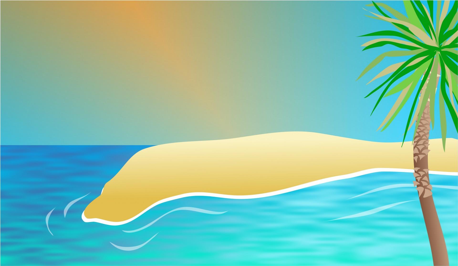 Clip art illustration graphic. Clipart ocean ocean scenery