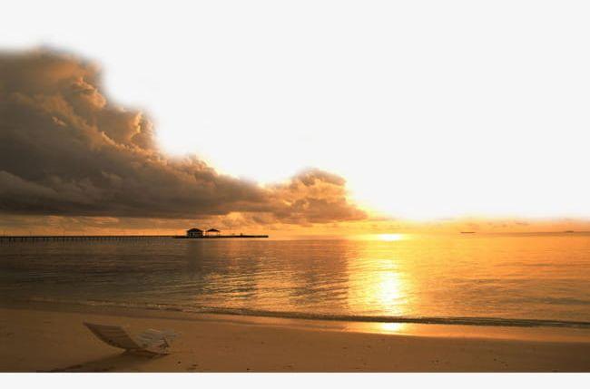 Beautiful png beach . Clipart ocean ocean scenery