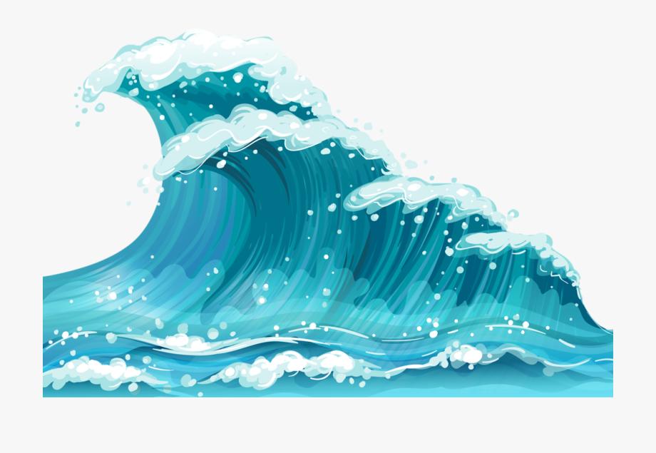 Cartoon transparent . Clipart ocean ocean surface