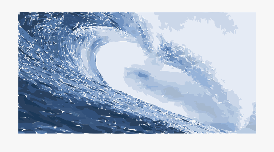 Wave backdrop png image. Clipart ocean ocean water