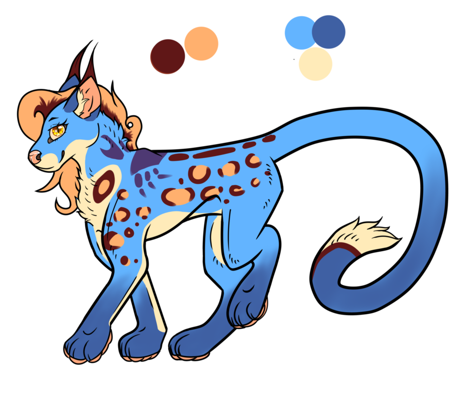 Ocean clipart open ocean. Themed ocelot x caracal