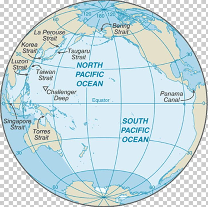 Earth facts ring of. Ocean clipart pacific