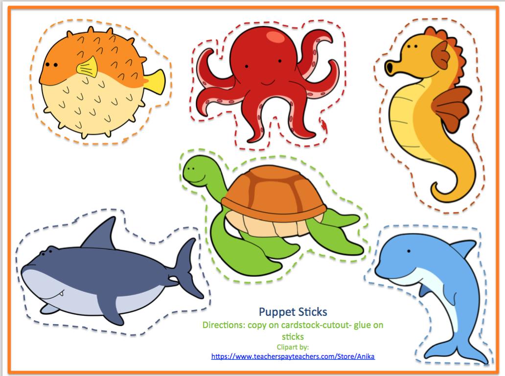 Printable no prep printables. Clipart ocean preschool