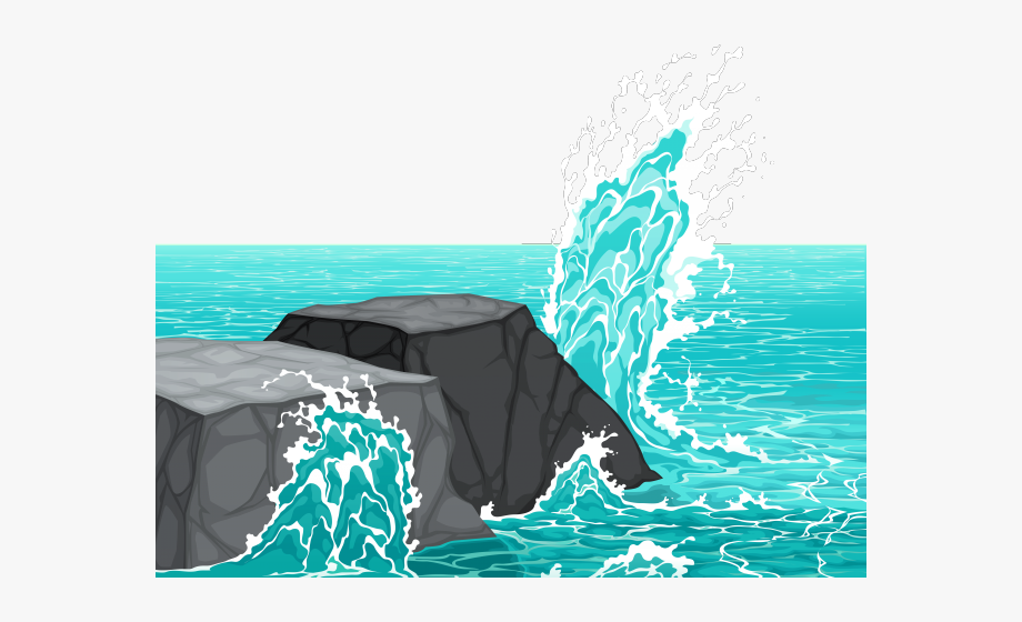Hard rocks in the. Clipart rock under sea