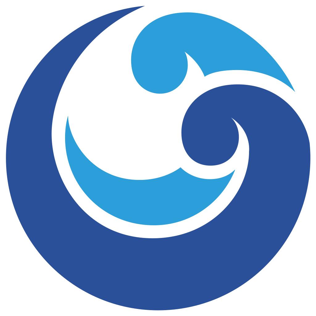 Ocean clipart swirl. Wind wave clip art
