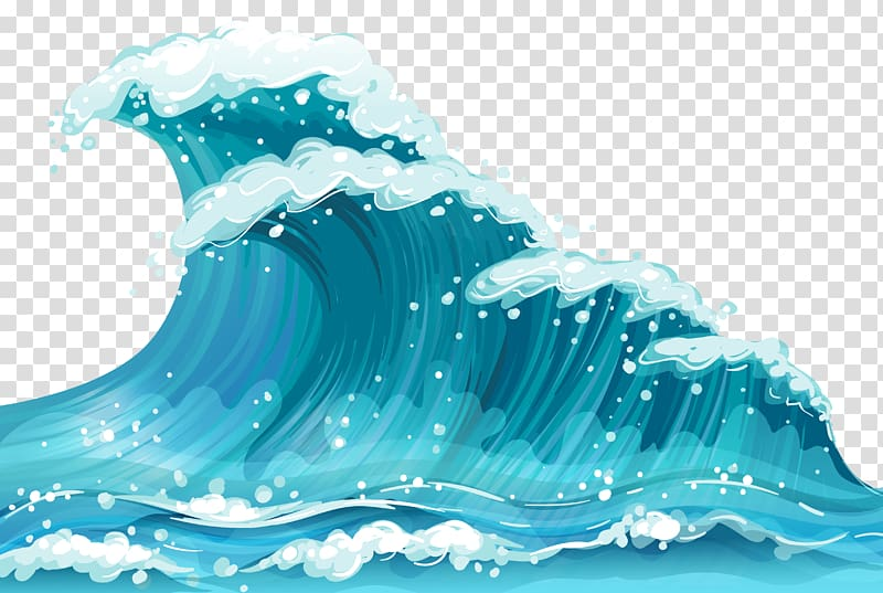 Wind wave sea ground. Waves clipart clear background